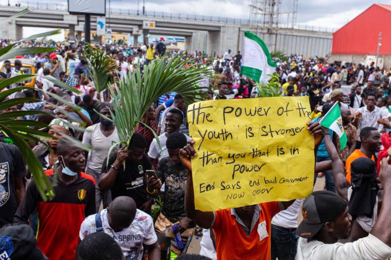 Nigeria se alza contra la violencia policial