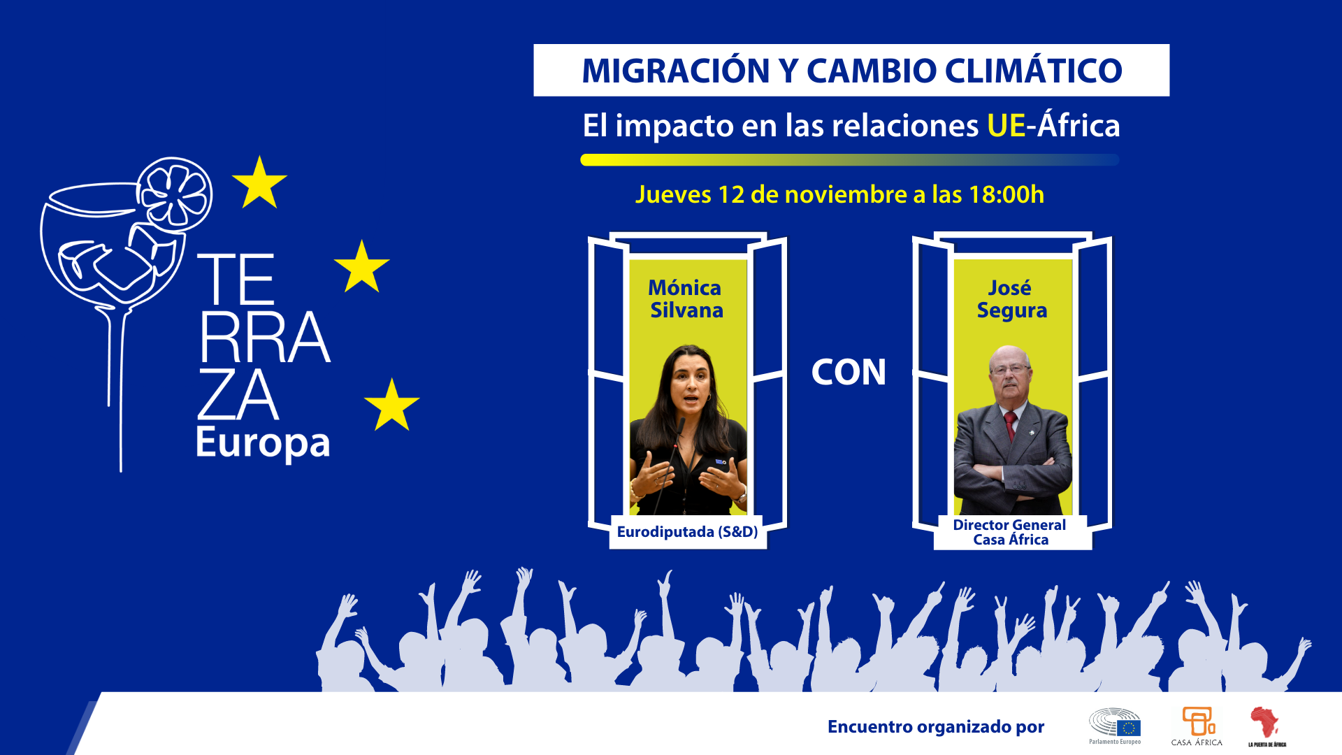 Terraza Europa: Cambio Climático y migraciones – Resumen de la Jornada