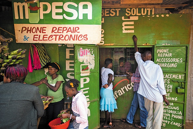 M-Pesa y la banca móvil: instituciones financieras para la Agenda 2063