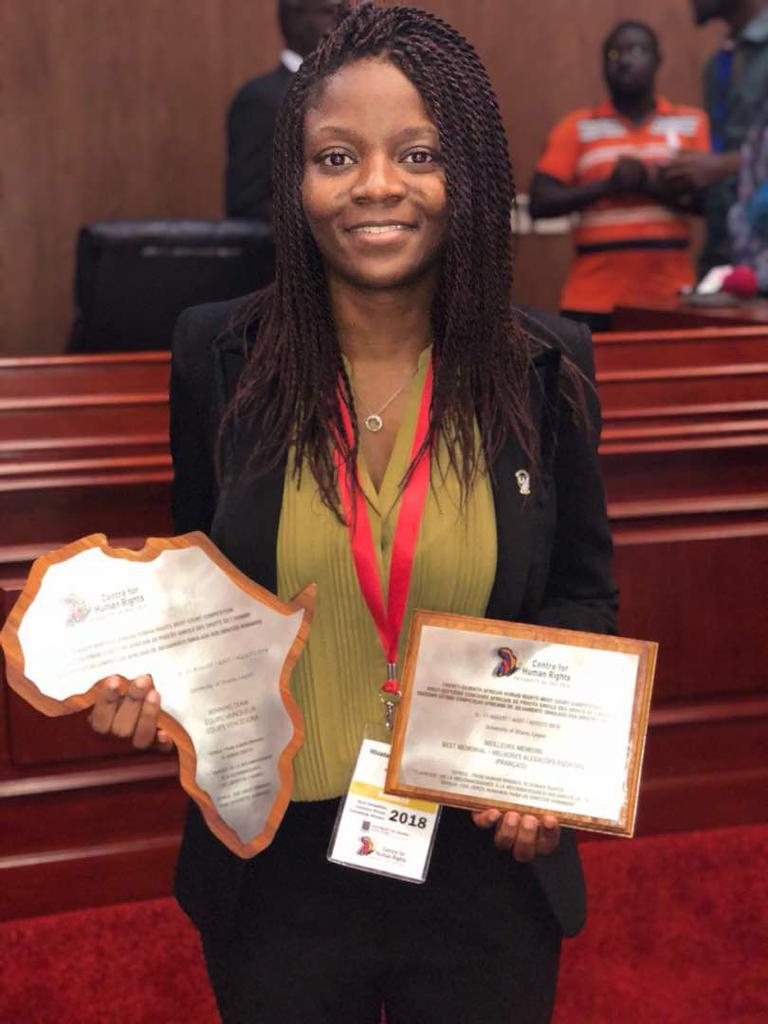 Mélissa Akemakou, cofundadora de Junior Female Leaders:  «La idea de Junior Female Leaders es empoderar a las mujeres y dar voz a aquellas que intentan ser emprendedoras».